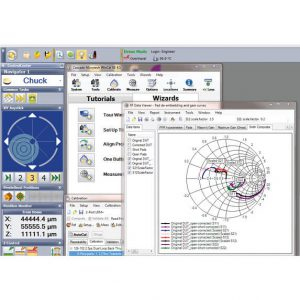 WinCal XE on-wafer RF measurement calibration software is fully integrated in Velox probe station control software