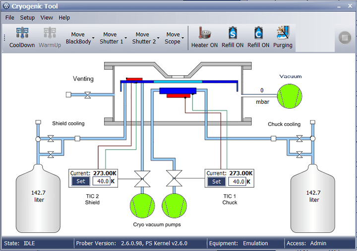 cryogenic devices velox software tool
