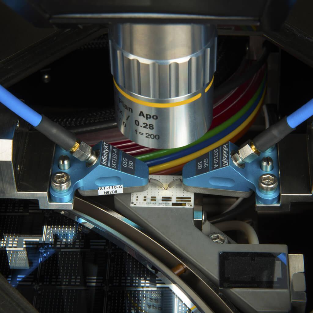 InfinityXT wafer probe on probe station