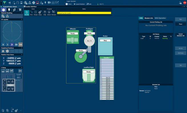 Velox™ 3 Probe Station Control Software - Loader Integration